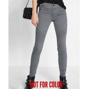 Express Twill Moto Leggings